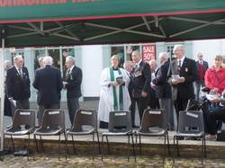 Commemoration To Honour Captain Archie White VC.Boroughbridge 061