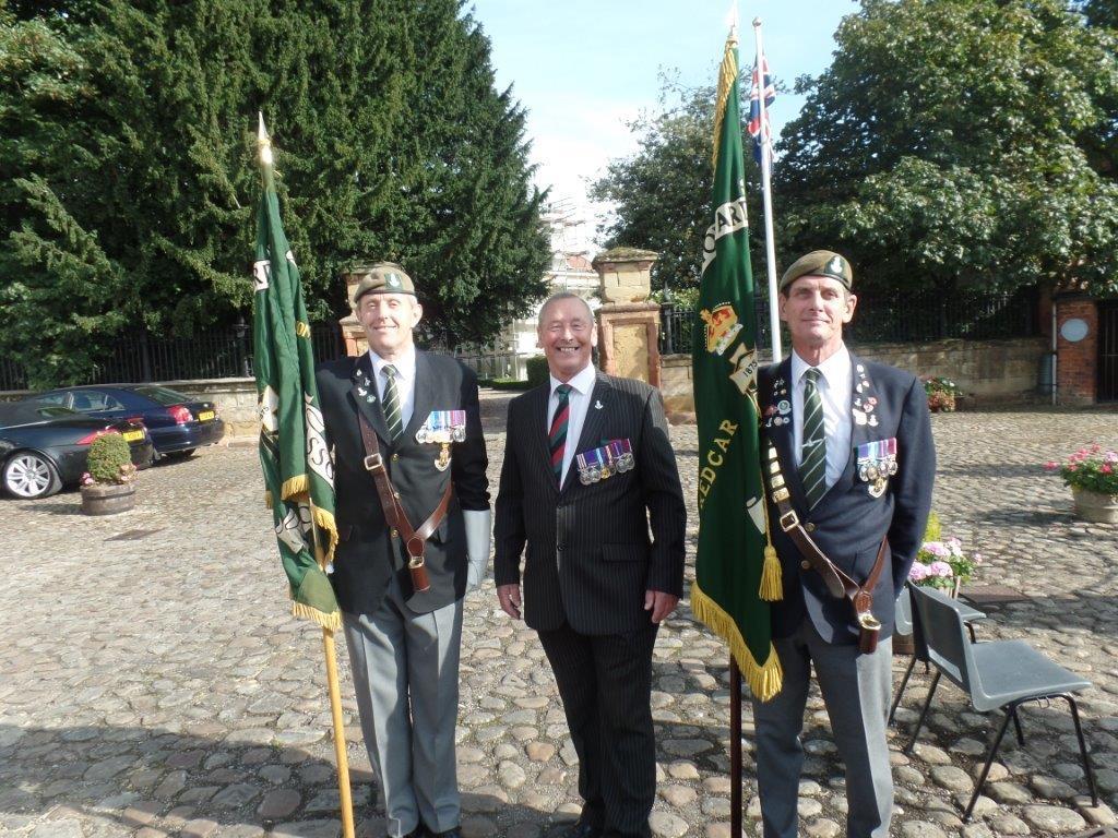 Commemoration To Honour Captain Archie White VC.Boroughbridge 119
