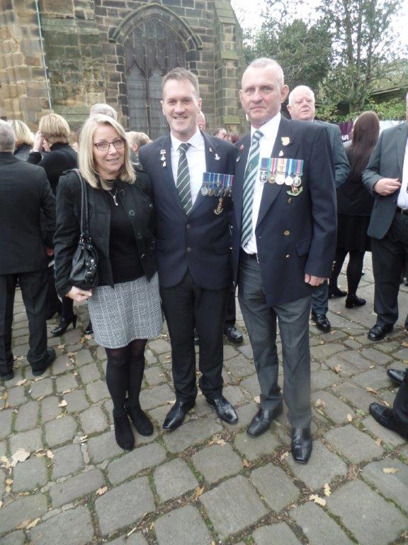 Kenny McGraths Funeral.Guisbrough Priory Wed 1st Nov 2017 105