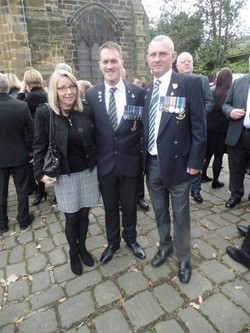 Kenny McGraths Funeral.Guisbrough Priory Wed 1st Nov 2017 105