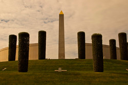 REAR OF THE ARMED FORCES MEMORIAL GV7A17