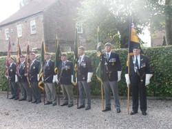 Commemoration To Honour Captain Archie White VC.Boroughbridge 053