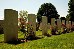 Day 2 Normandy Bayeaux CWG Cemetery 03