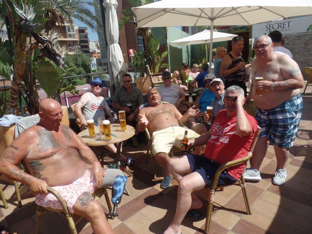 Green Howards.Benidorm Fun In The Sun.Mon 28th,Mon 4th June 2018 104