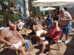Green Howards.Benidorm Fun In The Sun.Mon 28th,Mon 4th June 2018 104