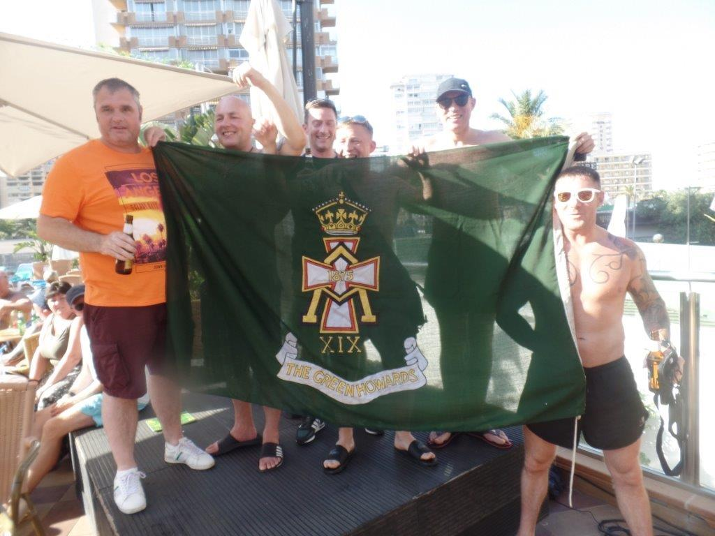 Green Howards.Benidorm Fun In The Sun.Mon 28th,Mon 4th June 2018 167