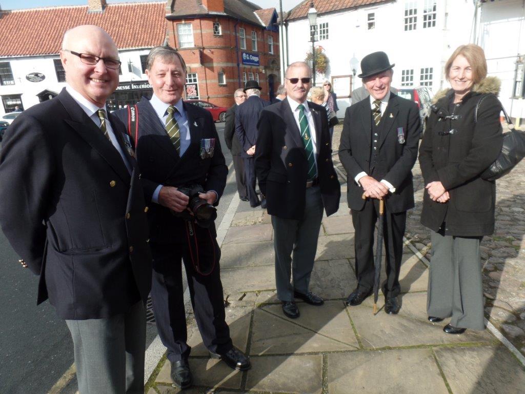Commemoration To Honour Captain Archie White VC.Boroughbridge 031