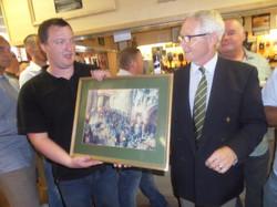 Stan Hollis V.C Memorial.Longlands Club Sat 2nd Aug 2014 038