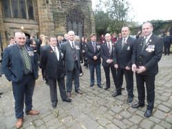 Kenny McGraths Funeral.Guisbrough Priory Wed 1st Nov 2017 040