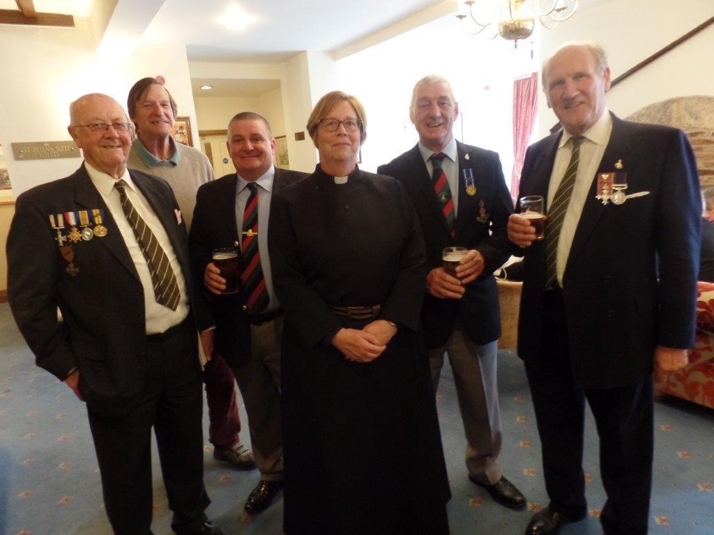 Commemoration To Honour Captain Archie White VC.Boroughbridge 133