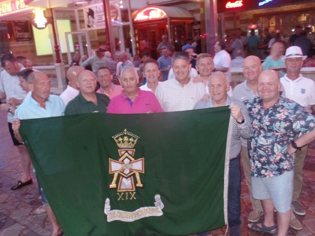 Green Howards Benidorm.Fun In The Sun.Mon 28th Mon 4th June 2018 040