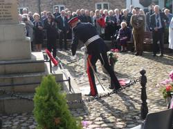 Commemoration To Honour Captain Archie White VC.Boroughbridge 077