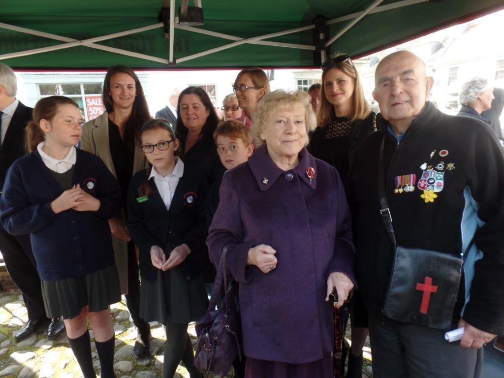 Commemoration To Honour Captain Archie White VC.Boroughbridge 104