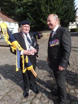 Commemoration To Honour Captain Archie White VC.Boroughbridge 122
