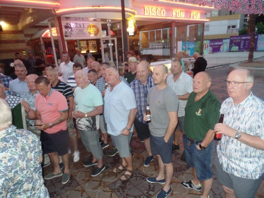 Green Howards Benidorm.Fun In The Sun.Mon 28th Mon 4th June 2018 030