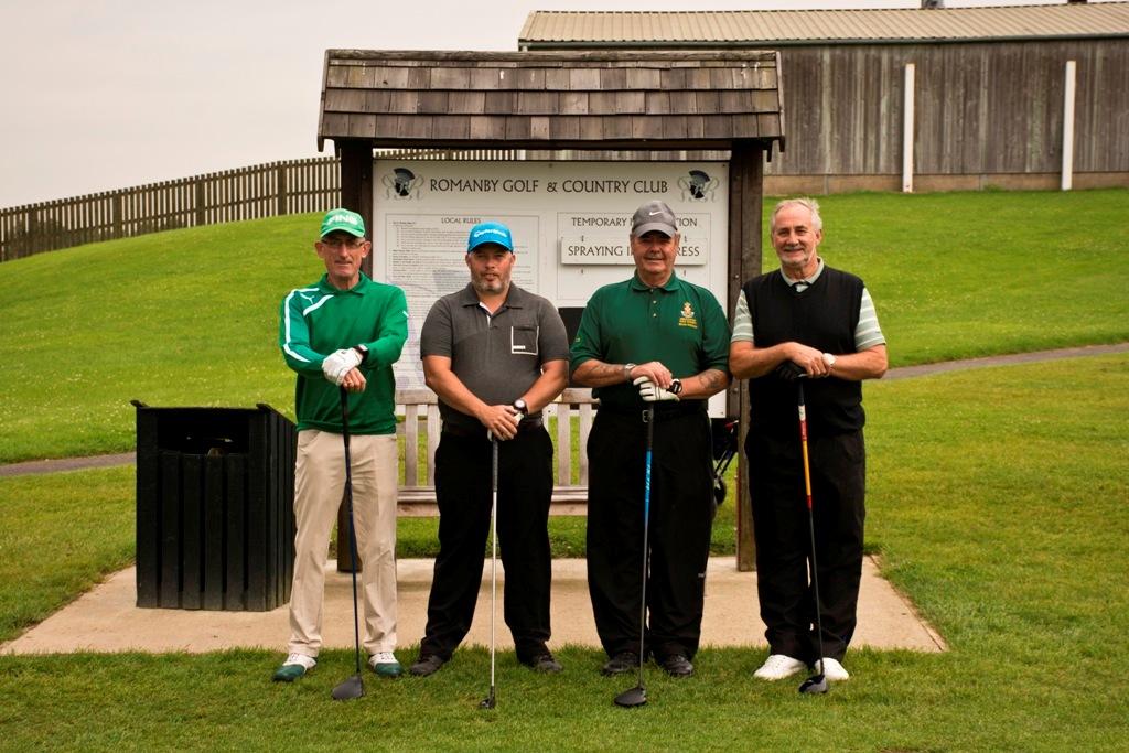 BOB PURVIS, MATTY BUSHBY, BRIAN (SUE) HODGSON, DAVE McMILLAN