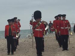 5 Band on beach