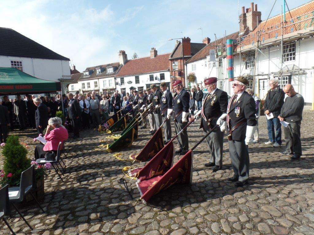 Commemoration To Honour Captain Archie White VC.Boroughbridge 089