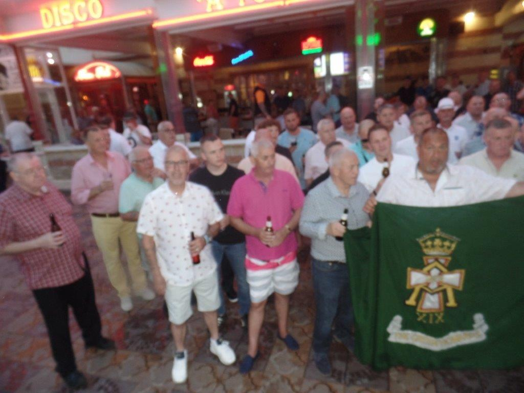 Green Howards Benidorm.Fun In The Sun.Mon 28th Mon 4th June 2018 027