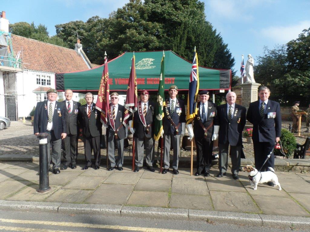 Commemoration To Honour Captain Archie White VC.Boroughbridge 018
