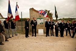 Day 2 Normandy Hollis VC Hut 11