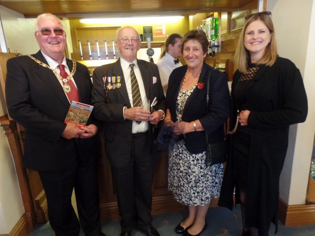 Commemoration To Honour Captain Archie White VC.Boroughbridge 144
