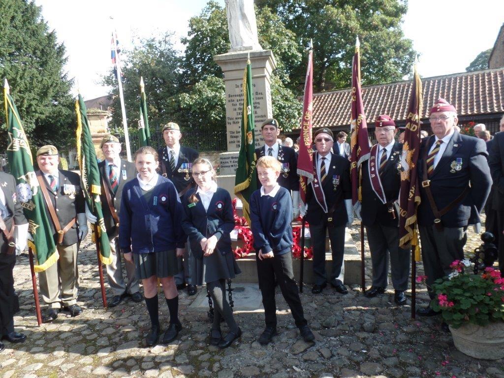 Commemoration To Honour Captain Archie White VC.Boroughbridge 106