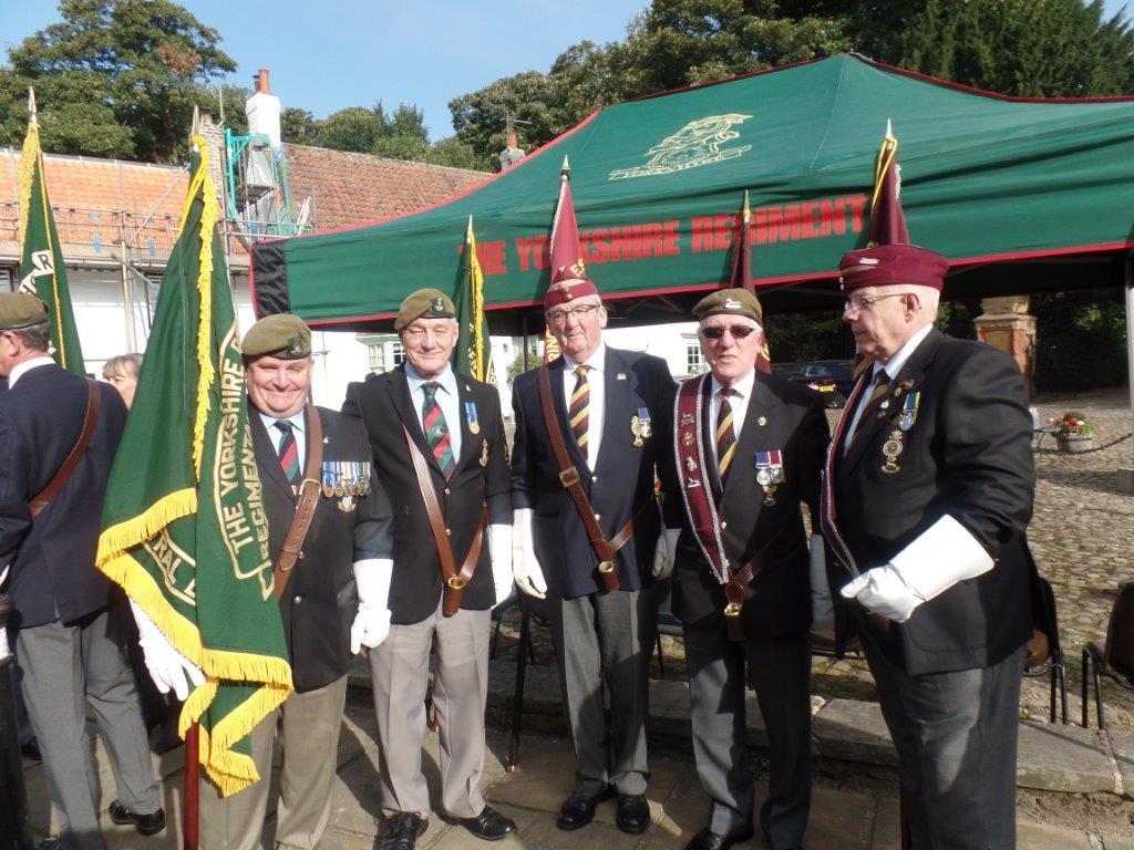 Commemoration To Honour Captain Archie White VC.Boroughbridge 047
