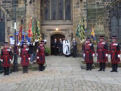 Kenny McGraths Funeral.Guisbrough Priory Wed 1st Nov 2017 099