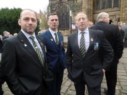 Kenny McGraths Funeral.Guisbrough Priory Wed 1st Nov 2017 010