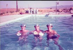 04 - A Coy HQ Cyprus 1981 2IC Nick Rynn CSM JOB CM