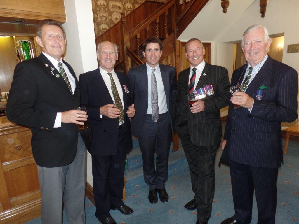Commemoration To Honour Captain Archie White VC.Boroughbridge 154