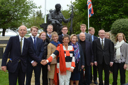 25 Harrison family & Mayors