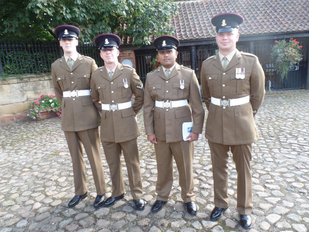 Commemoration To Honour Captain Archie White VC.Boroughbridge 059