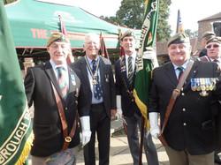 Commemoration To Honour Captain Archie White VC.Boroughbridge 028
