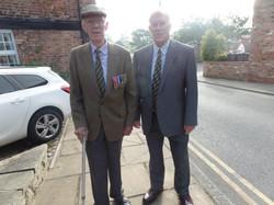 Commemoration To Honour Captain Archie White VC.Boroughbridge 045