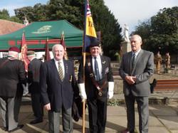 Commemoration To Honour Captain Archie White VC.Boroughbridge 032