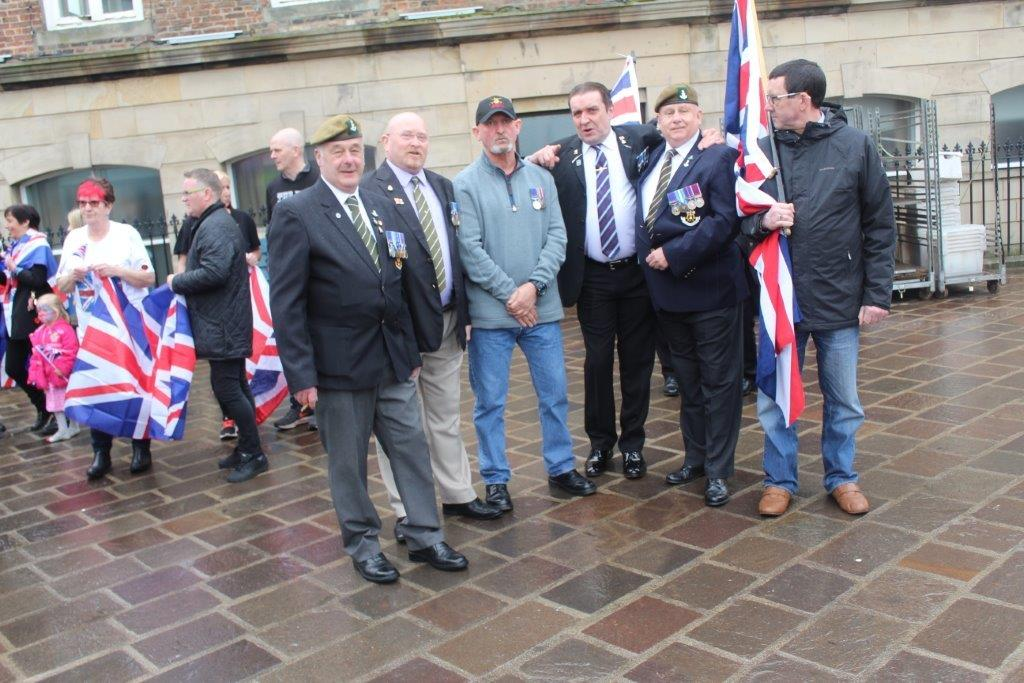Uk Veterans + Fly The Flag