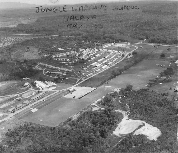 johore bahru jungle warfare school malaya