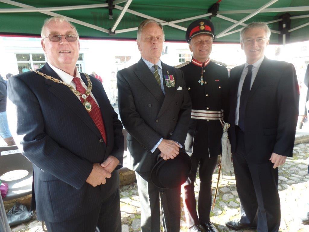 Commemoration To Honour Captain Archie White VC.Boroughbridge 095