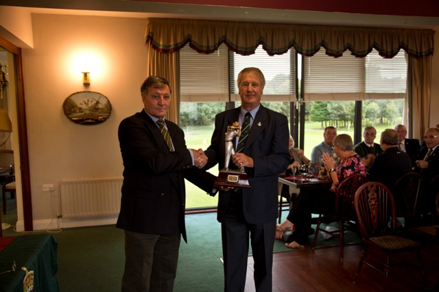 Peter Curtis, Winner and Champion Golfer XIX 2016_