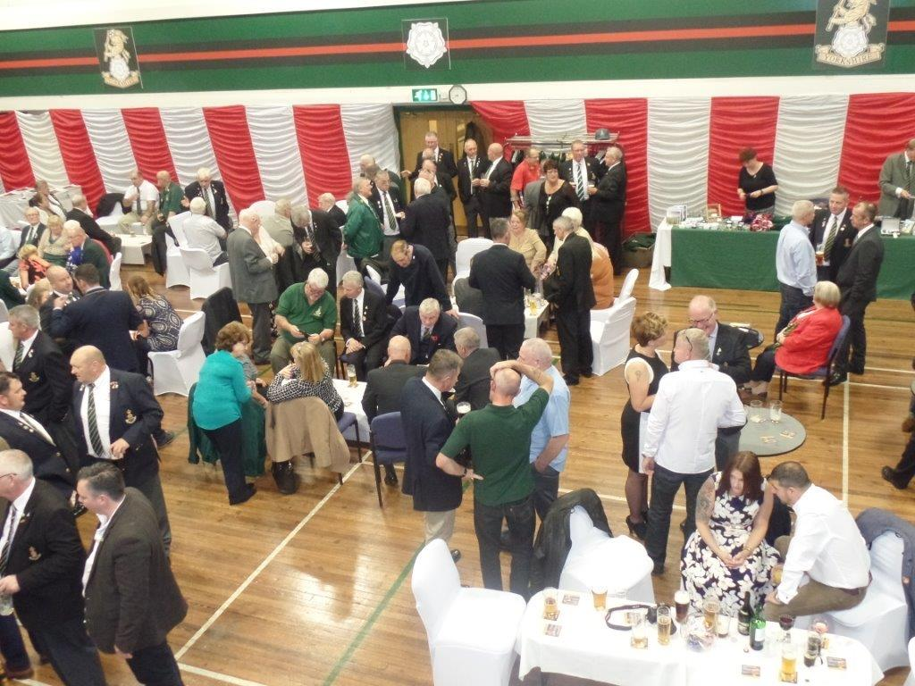 Green Howards Reunion,T.A  Centre Stockton Rd,Sat 15th Oct 2016 010