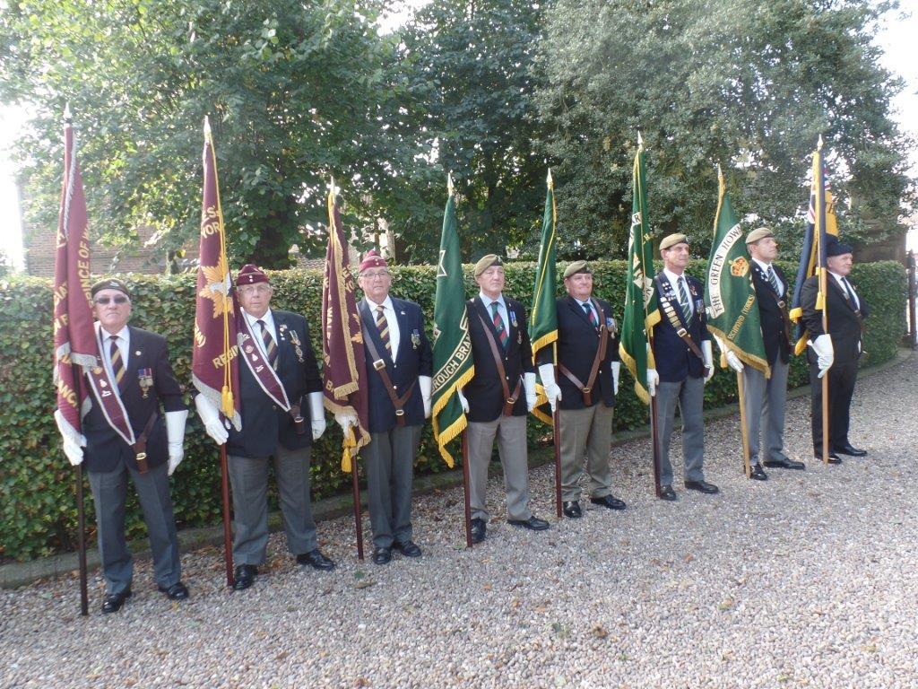 Commemoration To Honour Captain Archie White VC.Boroughbridge 051