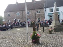 Commemoration To Honour Captain Archie White VC.Boroughbridge 056
