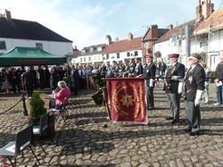 Commemoration To Honour Captain Archie White VC.Boroughbridge 088