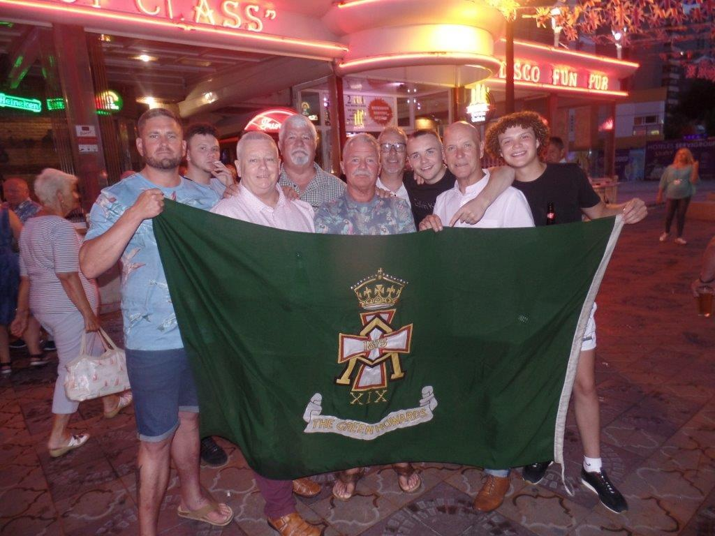 Green Howards Benidorm.Fun In The Sun.Mon 28th Mon 4th June 2018 050