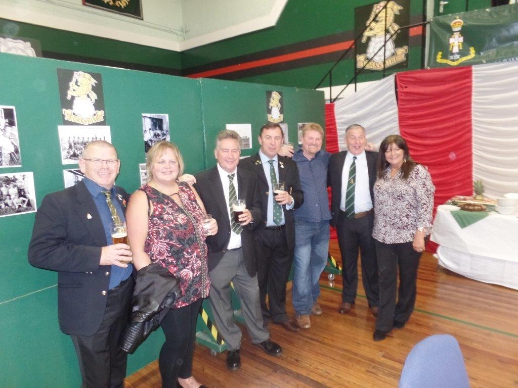 Green Howards Reunion,T.A  Centre Stockton Rd,Sat 15th Oct 2016 021