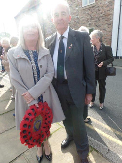 Commemoration To Honour Captain Archie White VC.Boroughbridge 039