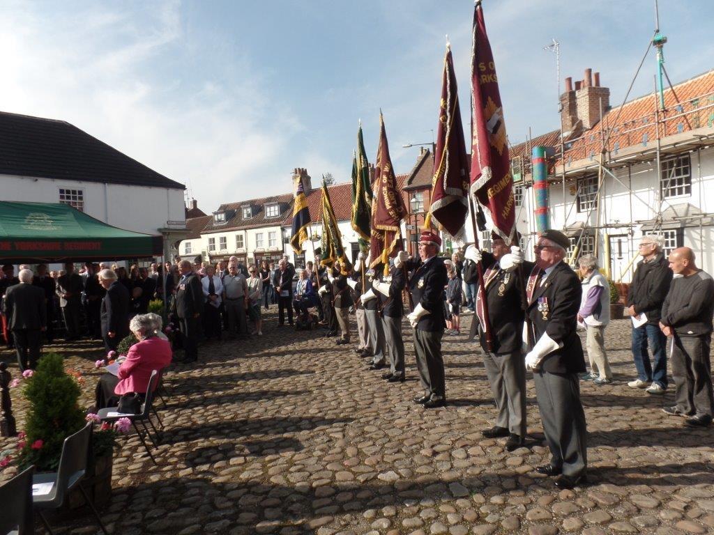 Commemoration To Honour Captain Archie White VC.Boroughbridge 090