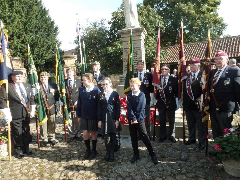 Commemoration To Honour Captain Archie White VC.Boroughbridge 108